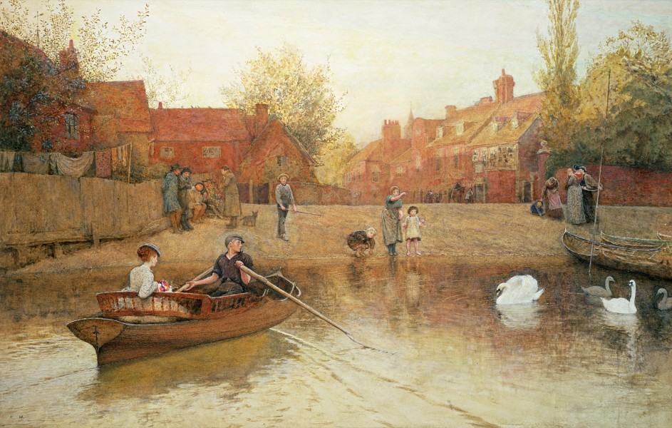 Frederick Walker - Marlow Ferry