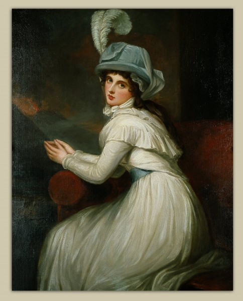 George Romney - Lady Hamilton - Google Art Project