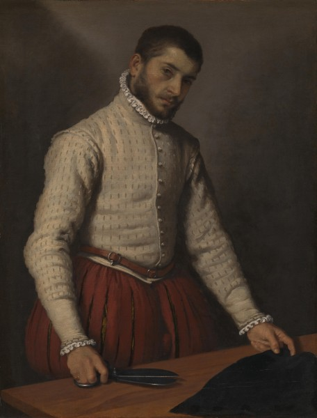 Giovanni Battista Moroni - The Tailor ('Il Tagliapanni') - Google Art Project