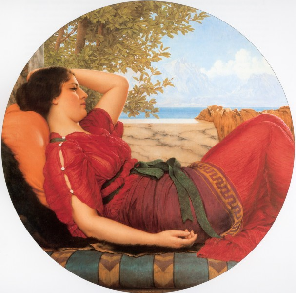 Godward In Realms of Fancy 1911
