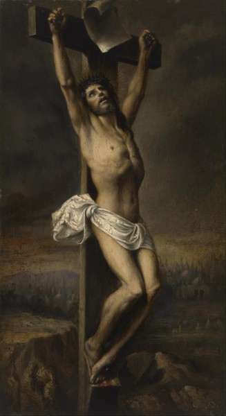 Gustave Doré - Christ on the Cross - Google Art Project