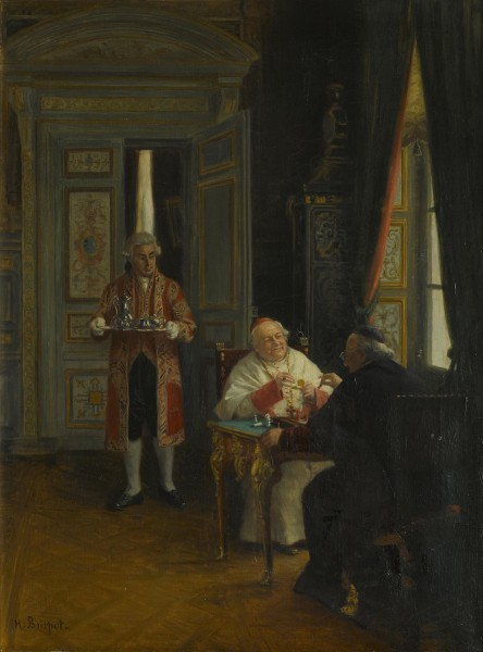 Henri Brispot The chess game