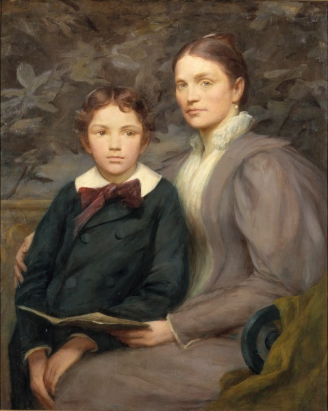 Henry O. Walker - Mrs. William T. Evans and Her Son - Google Art Project