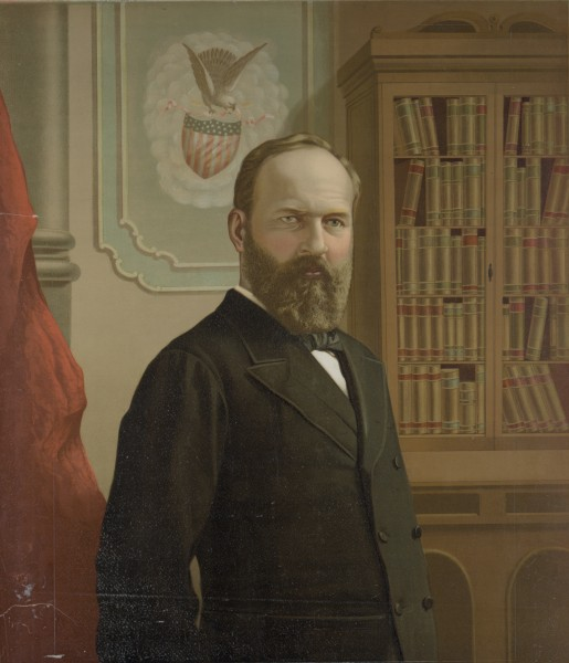 James A. Garfield, portrait by Gilman in the LOC.jpg