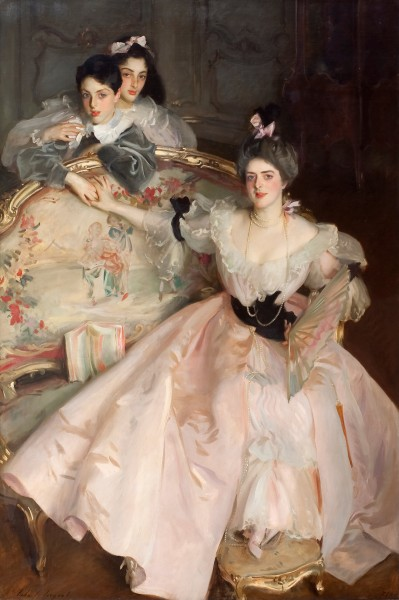 John Singer Sargent - Mrs Carl Meyer and her Children - Google Art Project