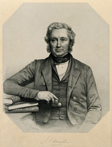 John Stevens Henslow. Lithograph by T. H. Maguire, 1849. Wellcome V0002695