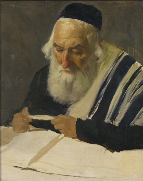 Krestin – Rabbi reading