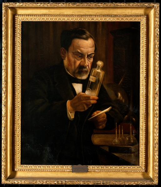Louis Pasteur, proponent of the 'germ' theory of disease. Wellcome V0018018