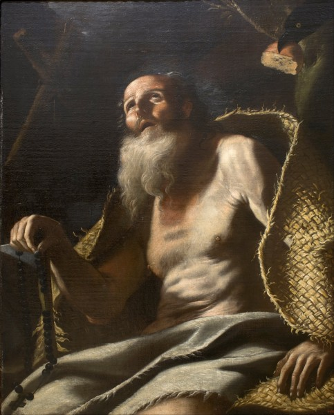 Mattia Preti - Saint Paul the Hermit - Google Art Project