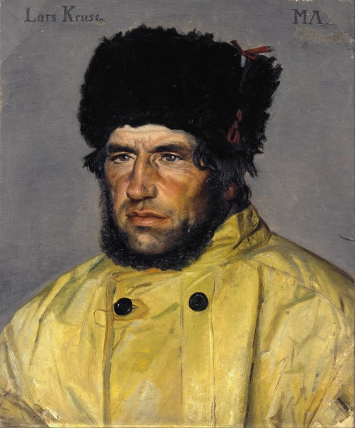 Michael Ancher - Chief lifeboatman Lars Kruse - Google Art Project