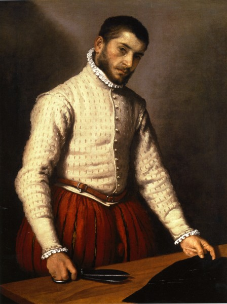 Moroni, Giovanni Battista - Tailor - National Gallery London
