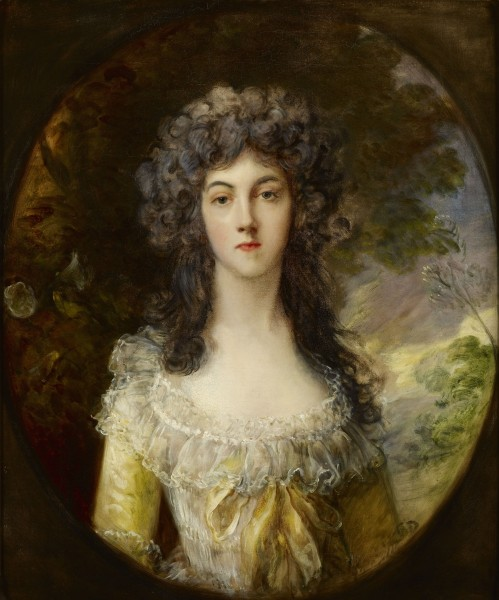 Mrs. Charles Hatchett - Gainsborough c. 1786