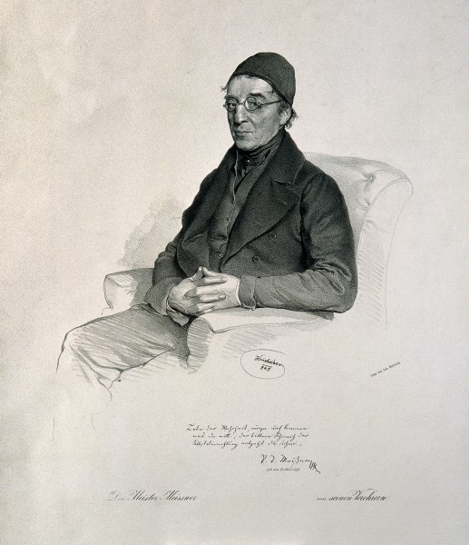 Paul Traugott Meissner. Lithograph by J. Kriehuber, 1845. Wellcome V0003967