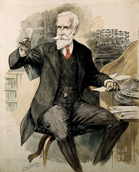 Portrait of Sir William Crookes (1832 - 1919), chemist Wellcome V0006487