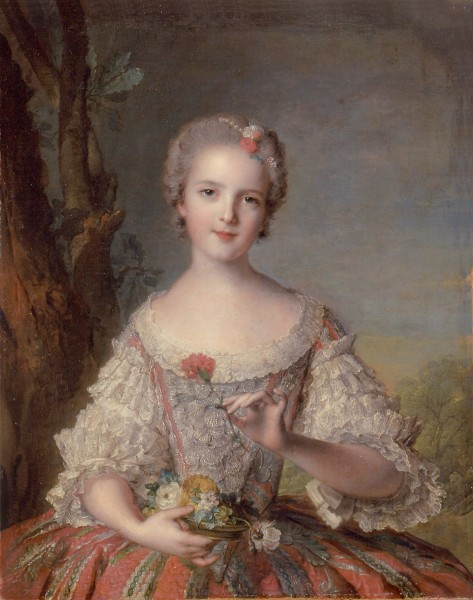 Princess Louise-Marie of France by Jean-Marc Nattier