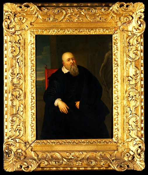 Sir Theodore Turquet de Mayerne (1573-1655), physician. Oil Wellcome V0017969