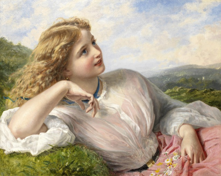 Sophie Anderson The song of the lark