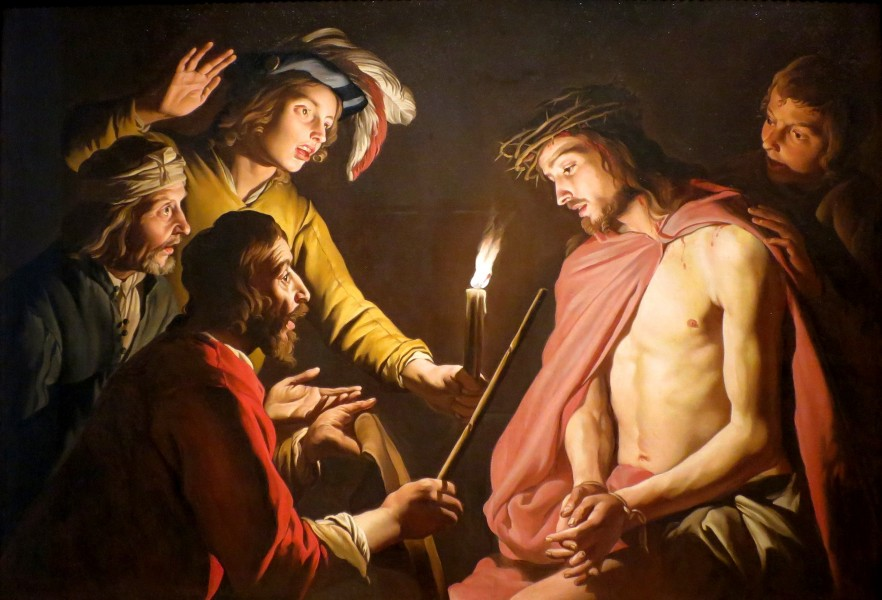 Stom, Matthias - Christ Crowned with Thorns - c. 1633-1639