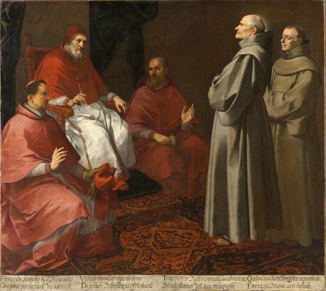 The Blessed Giles Before Pope Gregory IX - Bartolomé Estéban Murillo - Google Cultural Institute