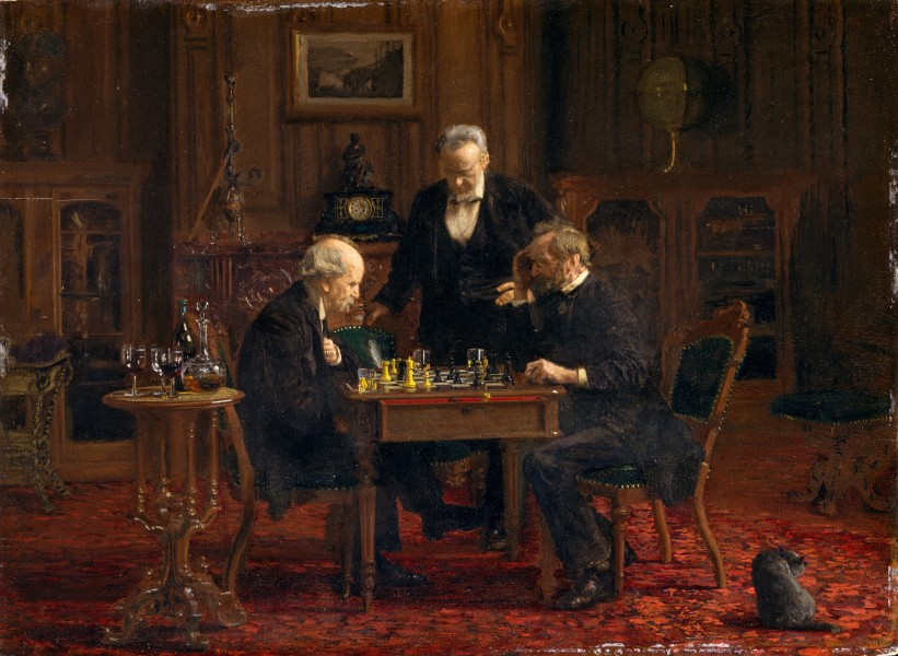 Thomas Eakins - The Chess Players