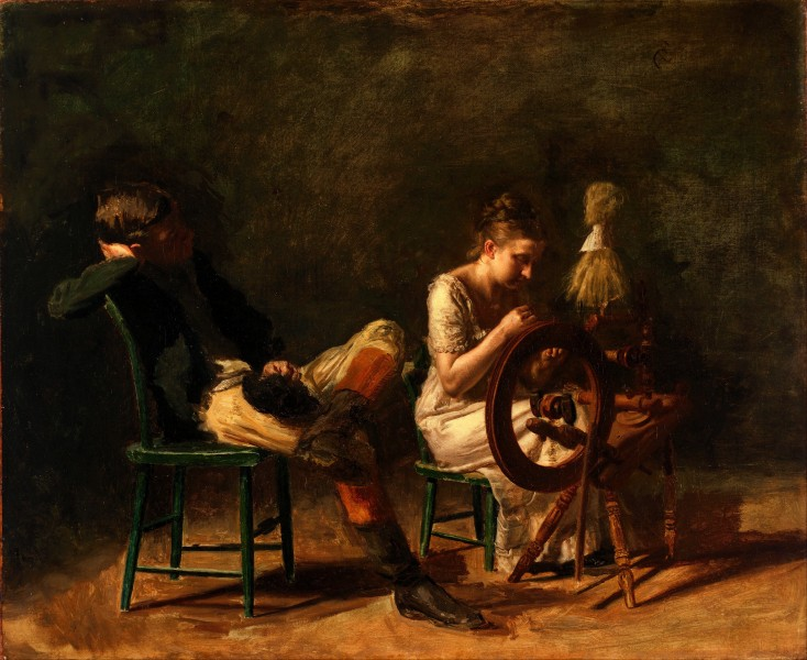 Thomas Eakins - The Courtship - Google Art Project