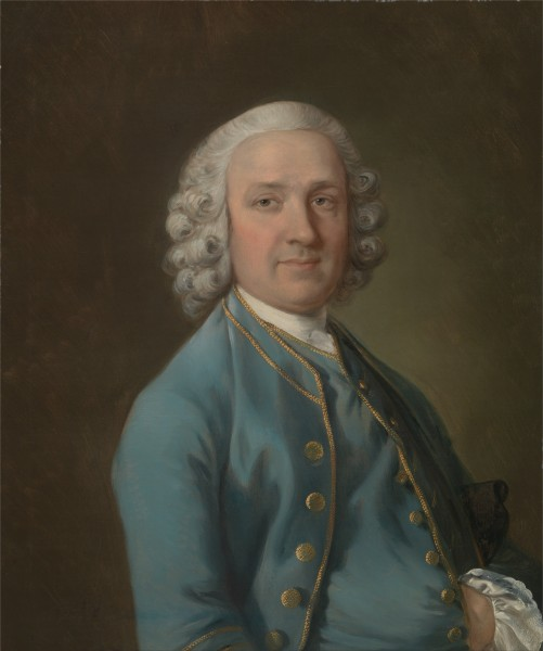 Thomas Gainsborough - A Man Called Mr. Wood, the Dancing Master - Google Art Project