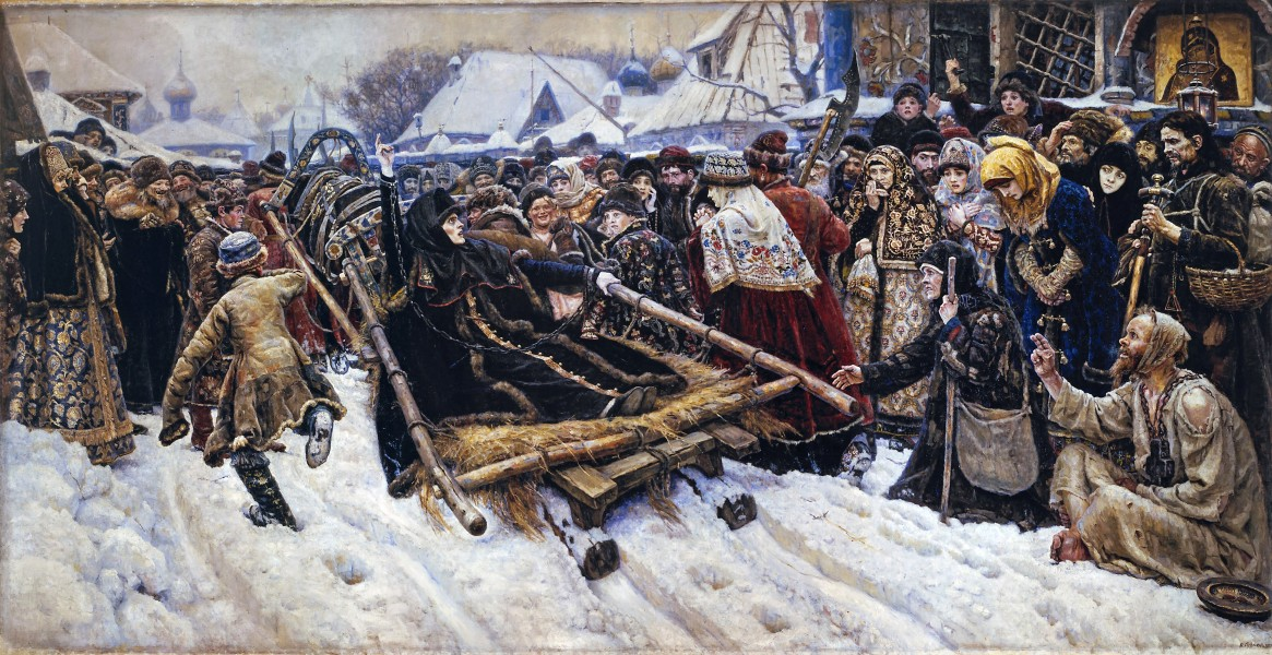Vasily Surikov - Боярыня Морозова - Google Art Project