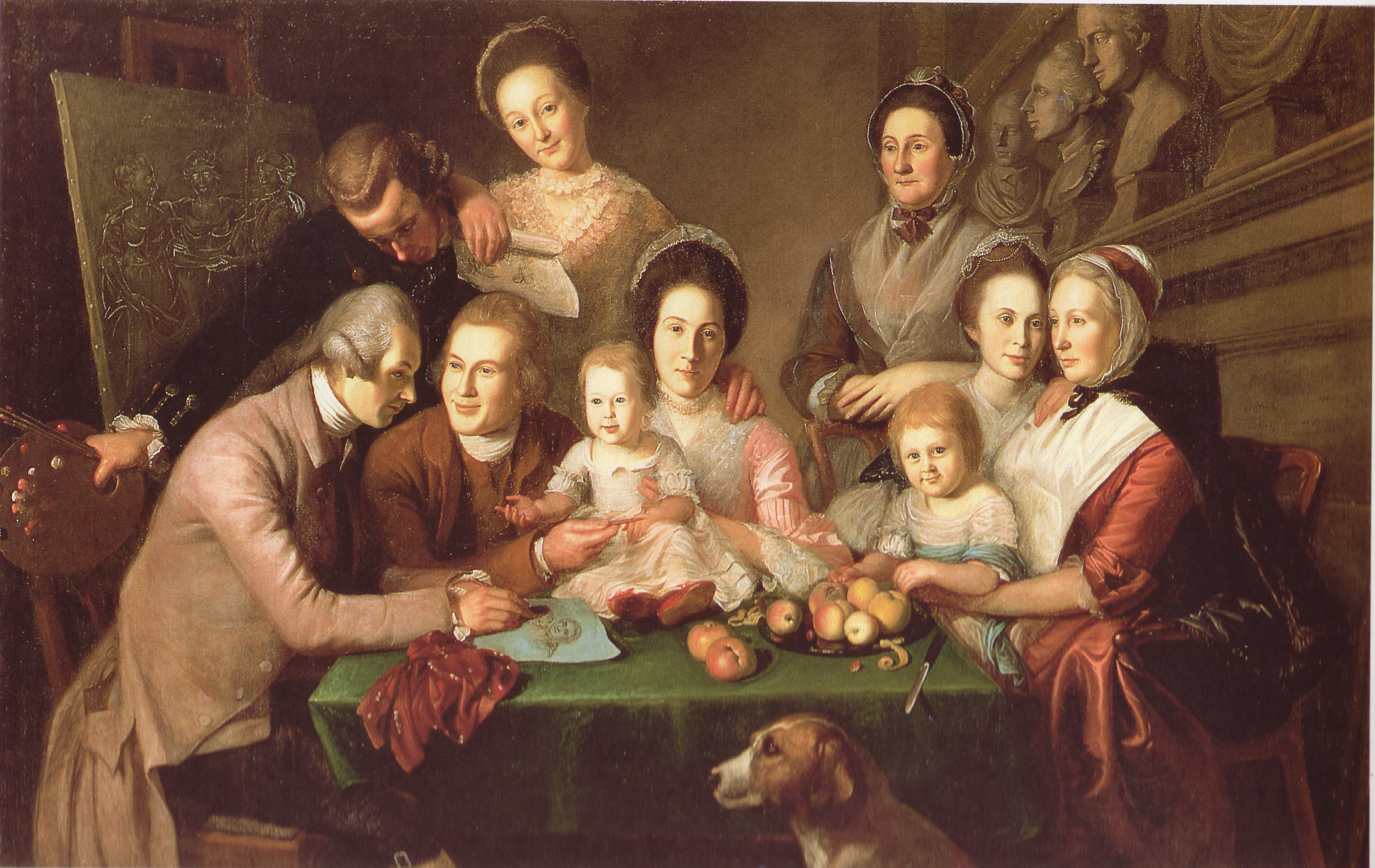 The peale family charles willson peale