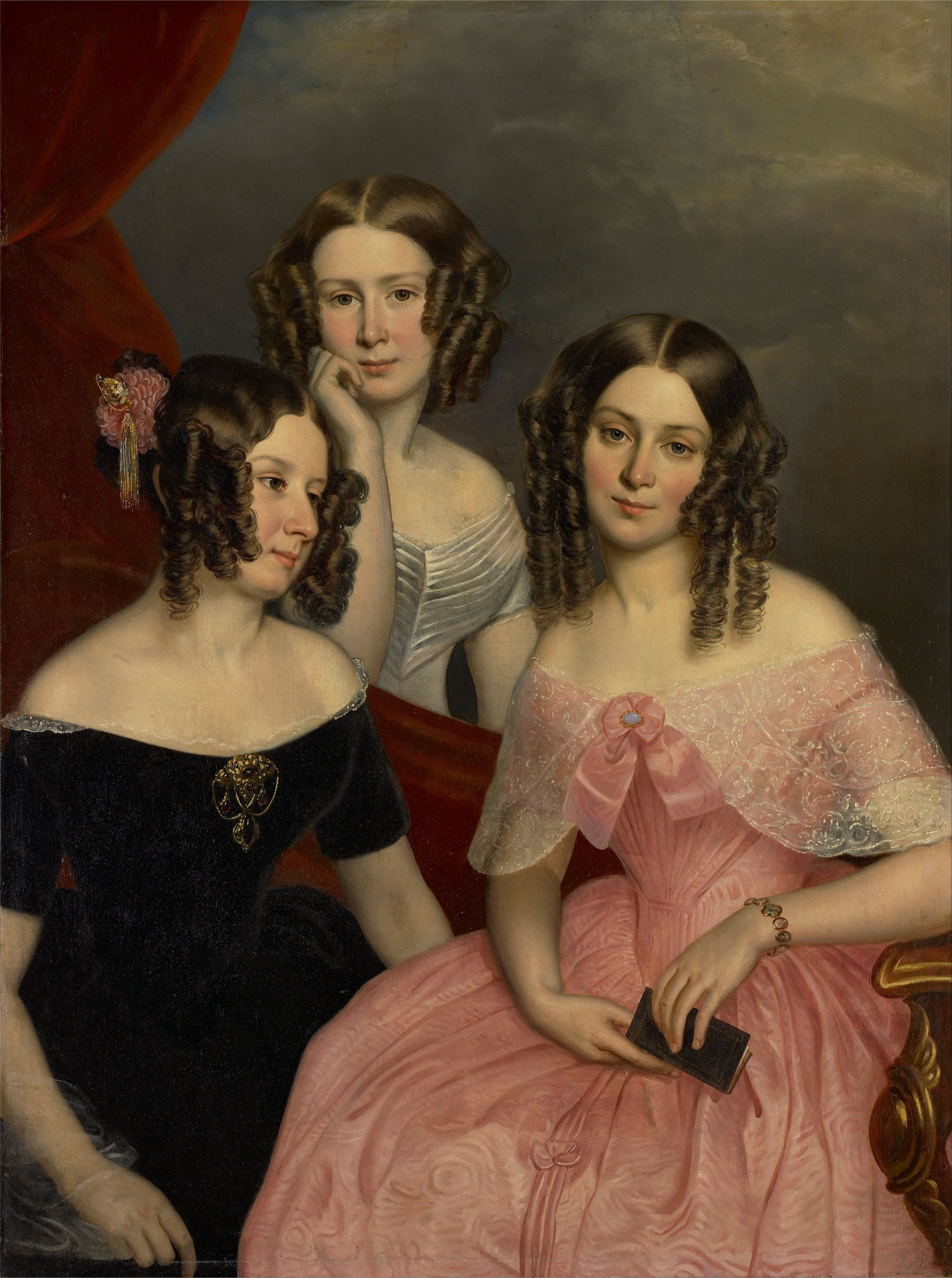 George Theodore Berthon - The Three Robinson Sisters - Google Art Project