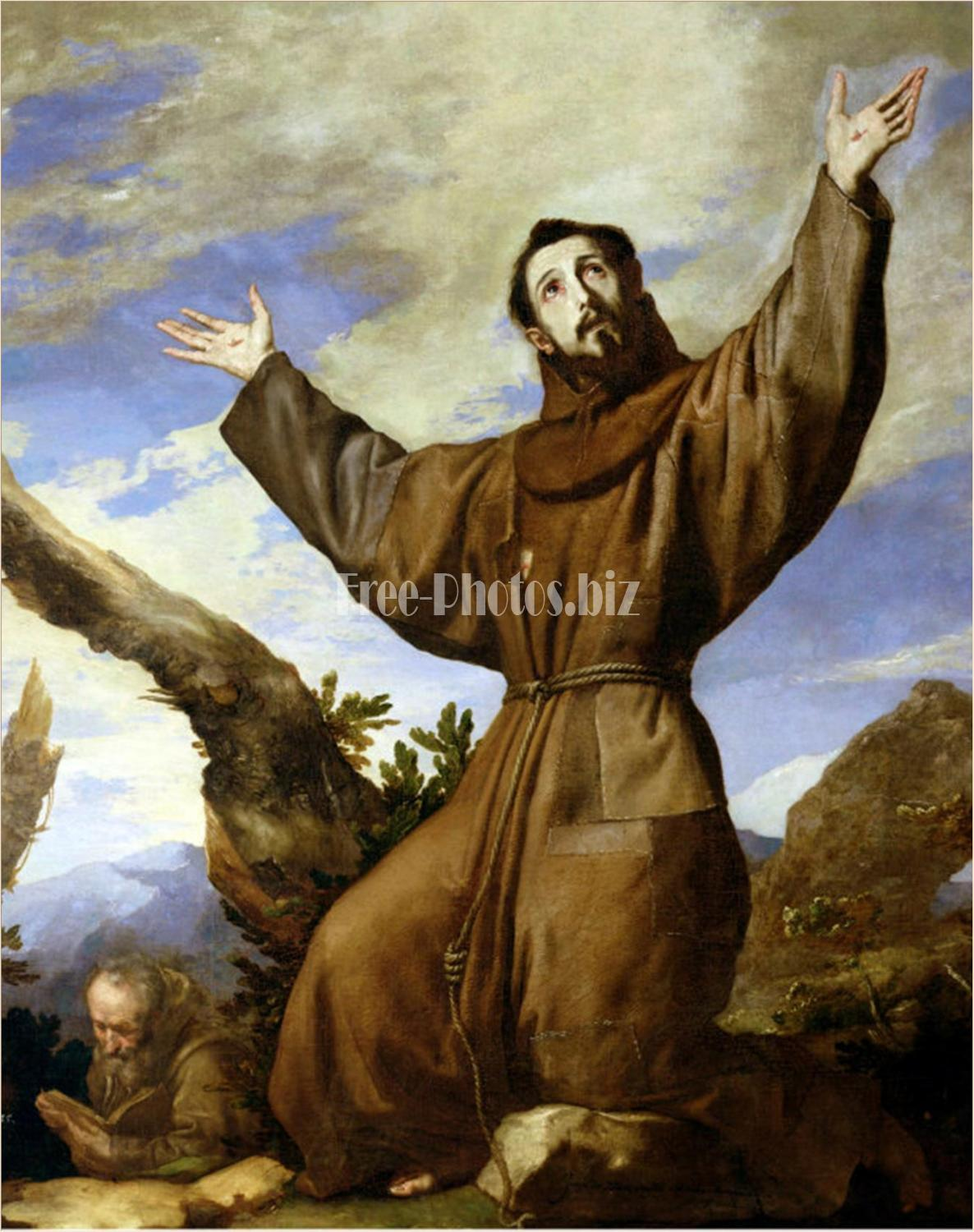 Saint Francis of Assisi by Jusepe de Ribera