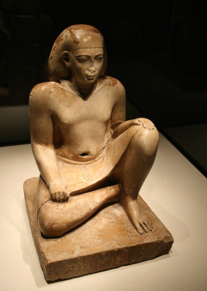 Statue of Bes, an Egyptian official (Gulbenkian Museum, photo by Szilas)