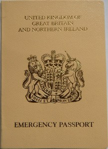 Emergency passport united kingdom one trip