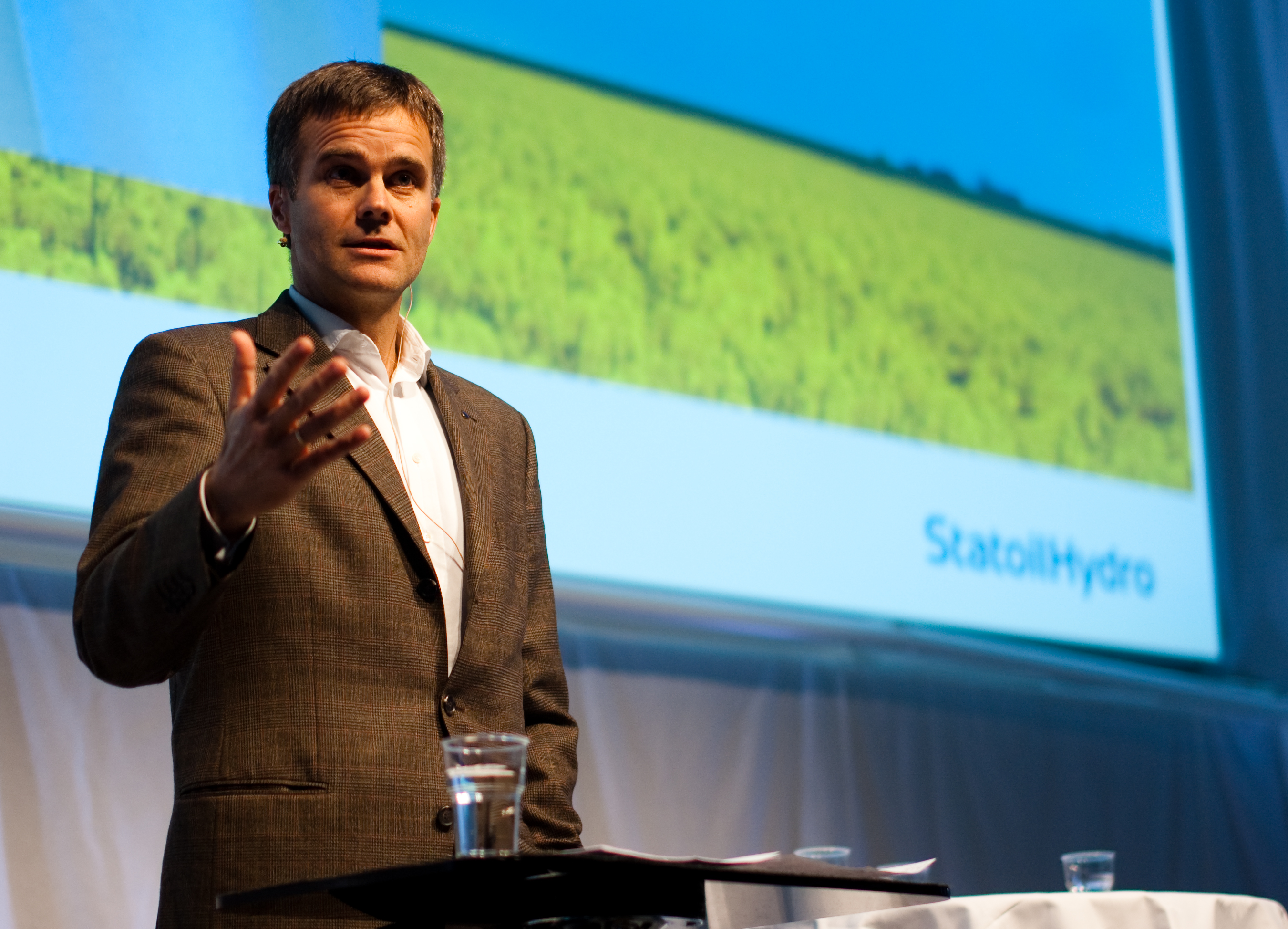 Helge Lund, CEO - StatoilHydro