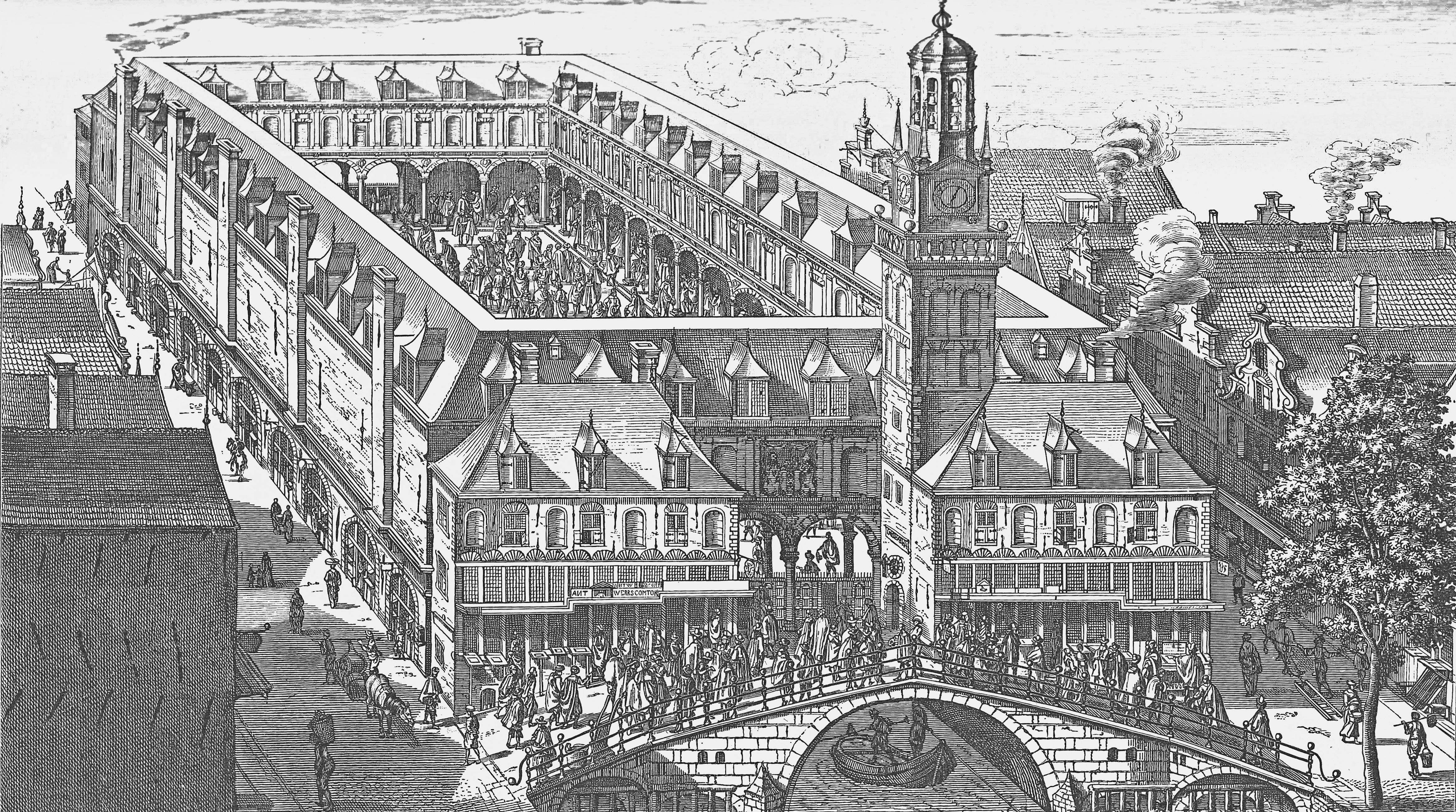 Old Bourse of Amsterdam