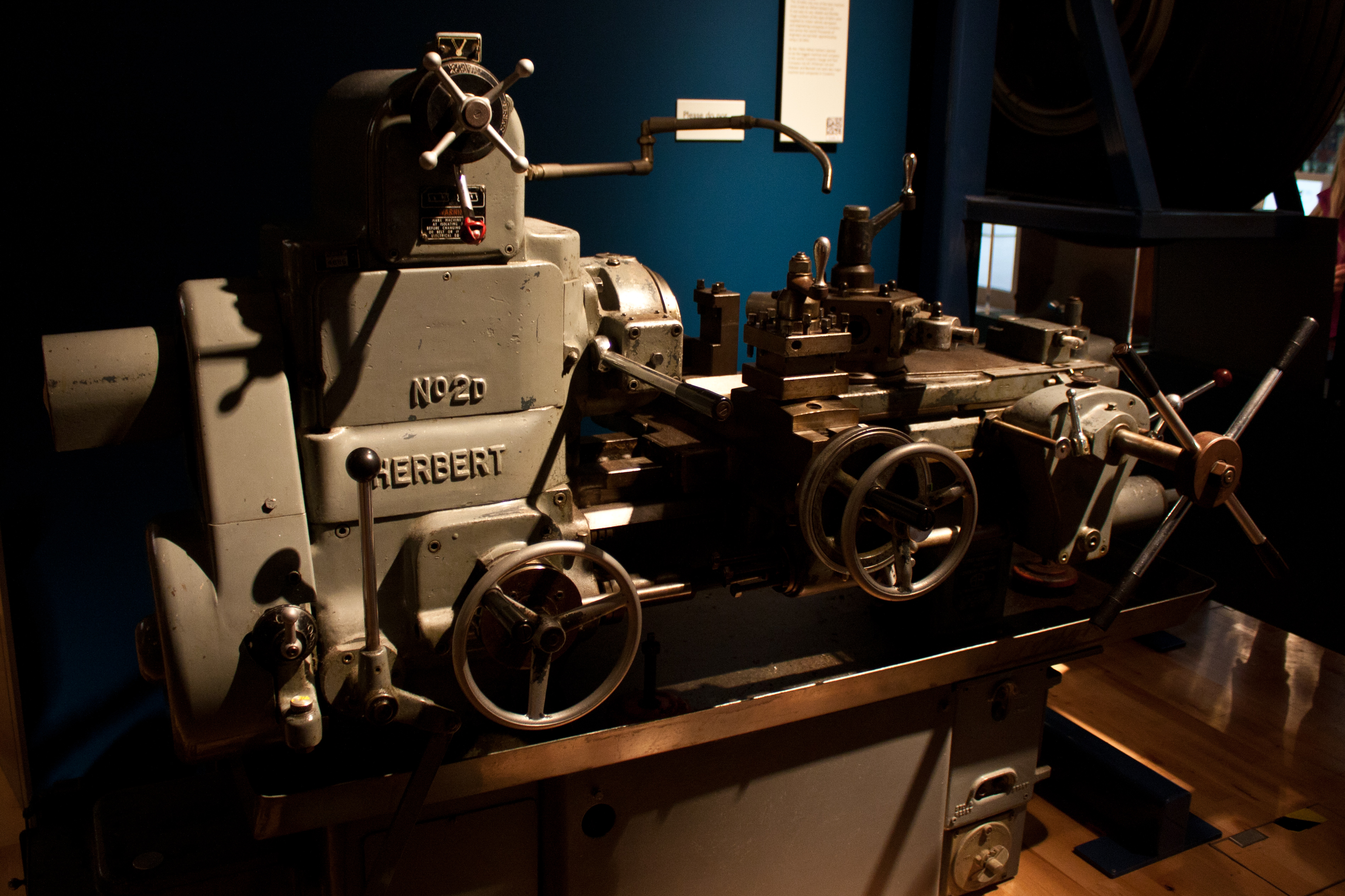 Herbert Art Gallery and Museum, Coventry - Lathe