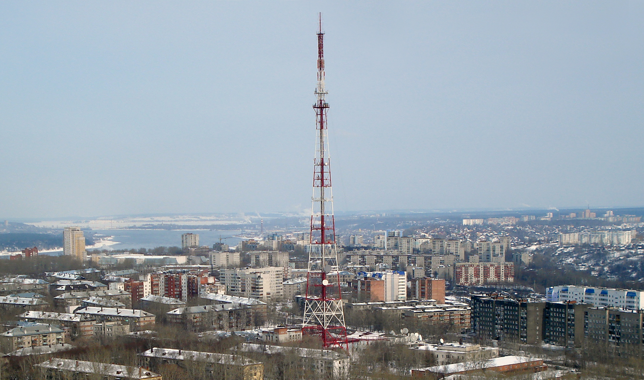 Perm TV tower 2010