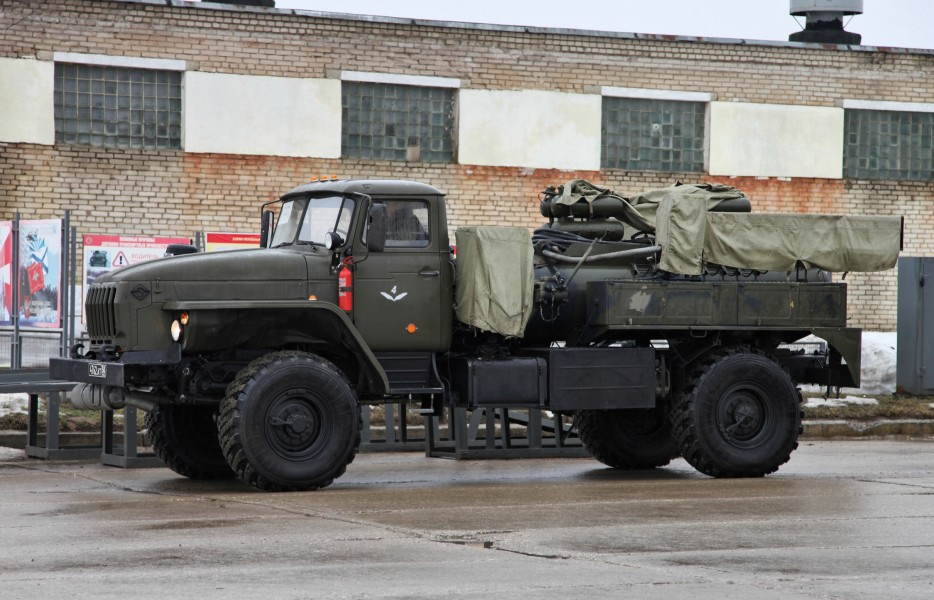 ARS-14 decontamination vehicle - Rehersal-Alabino-2012-04