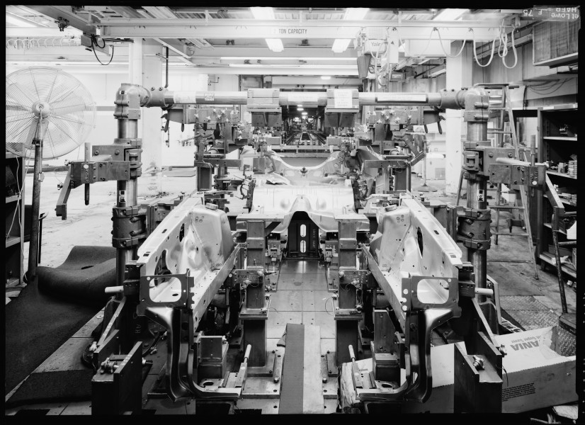 CMM LAYOUT ROOM MACHINERY Dearborn, MI HAER MI-356-37