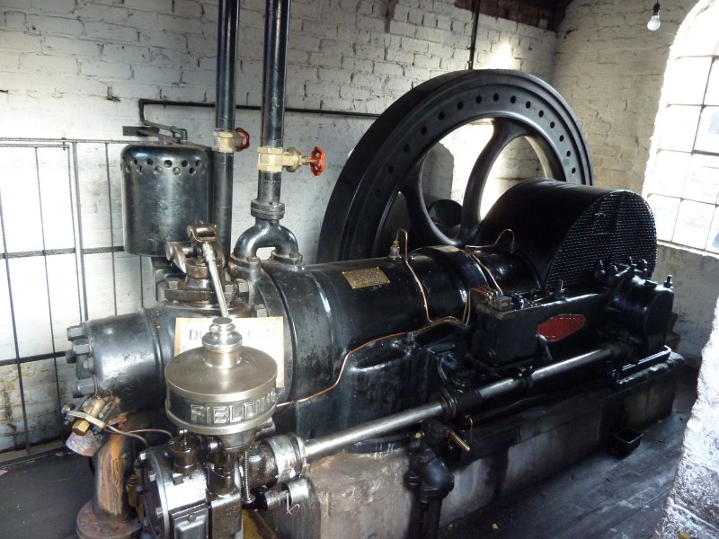 Fielding oil engine, Blists Hill