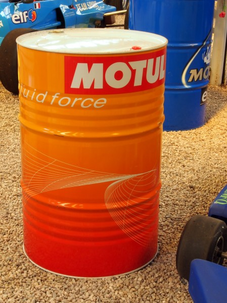 Motul oil drum