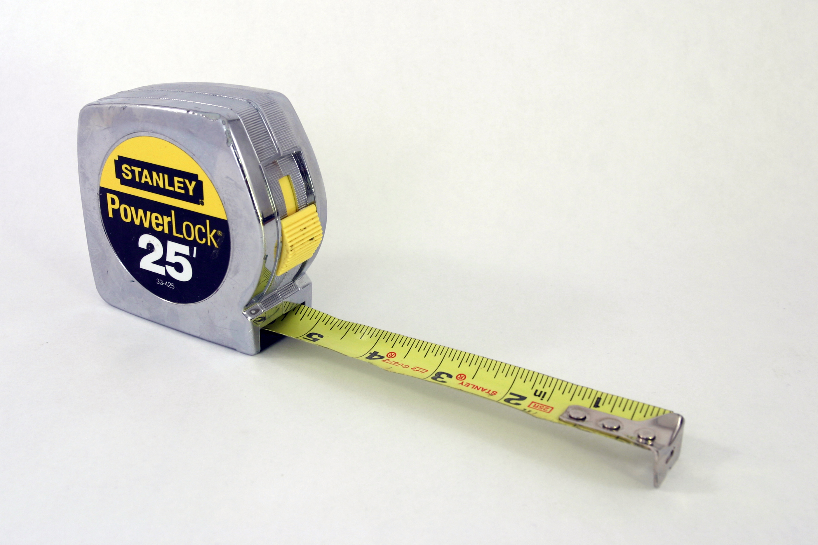Stanley PowerLock tape measure