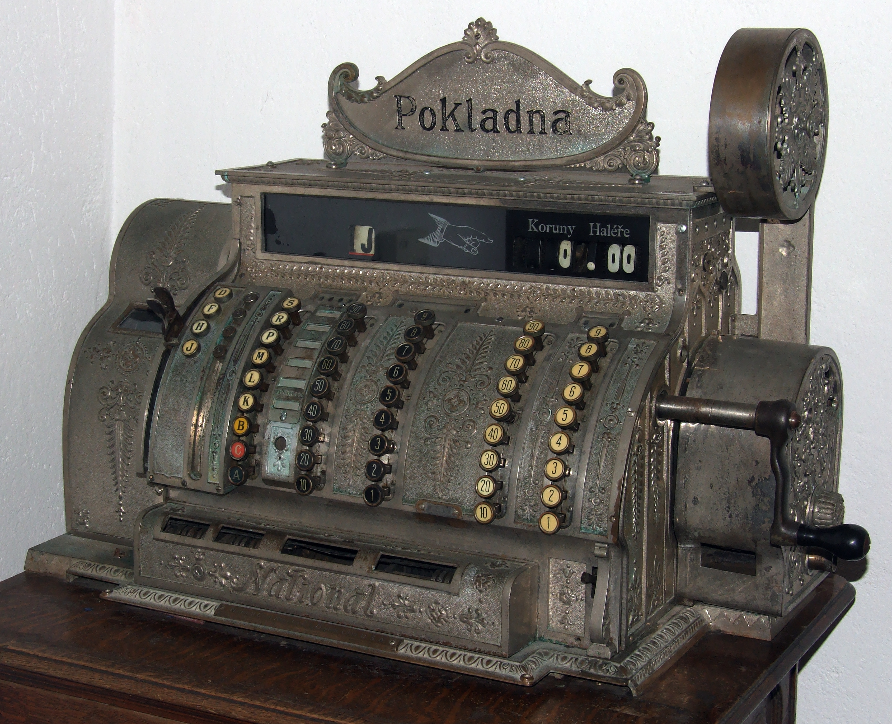 Cash register, built 1904 in Ohio