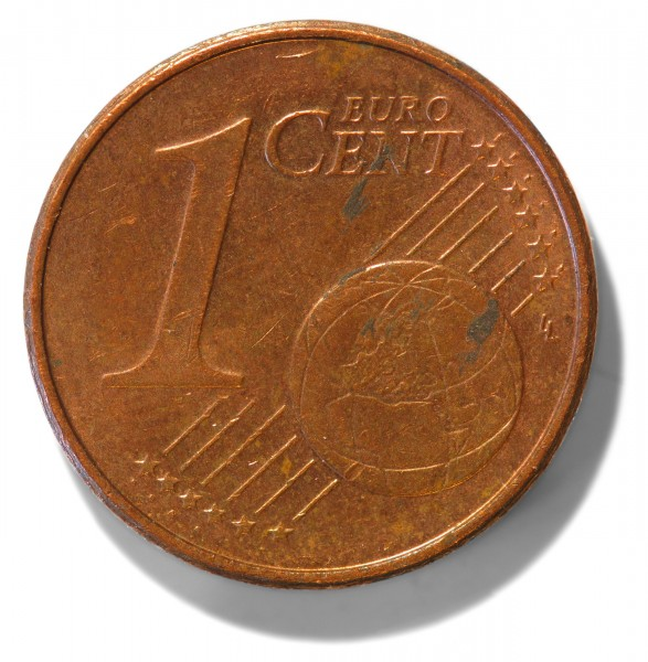 2002-issue Euro cent obverse