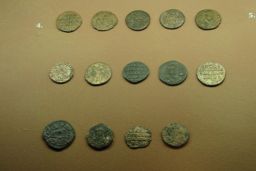 Coins of the Macedonian dynasty