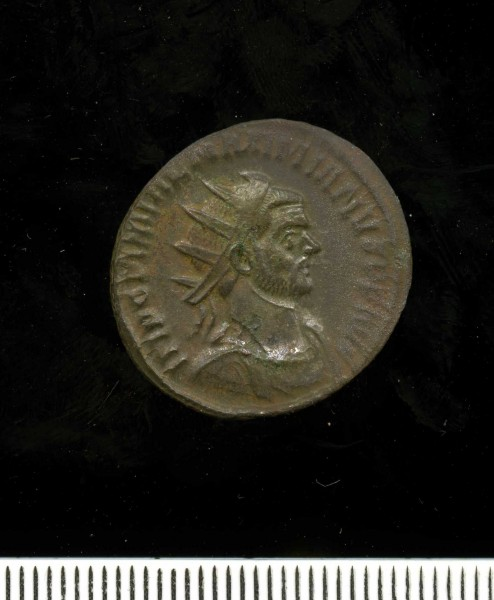 Silver washed radiate of Diocletian 284-305 (11 2) Obverse