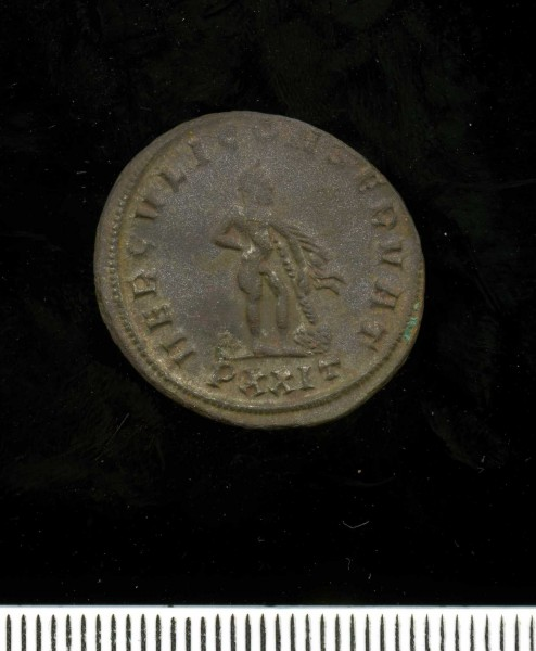 Silver washed radiate of Diocletian (11 2) Reverse