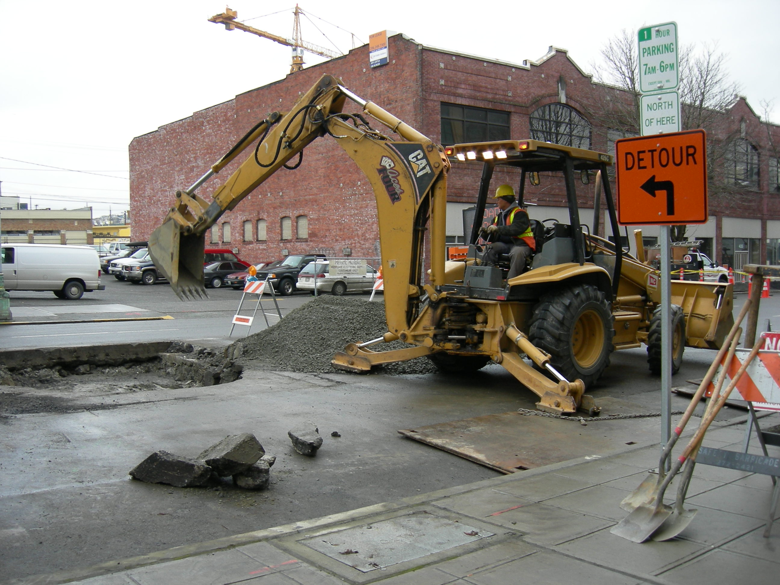 Seattle street work 11