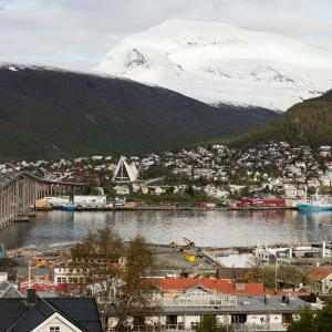 Download free photographs of Tromsø, Norway.