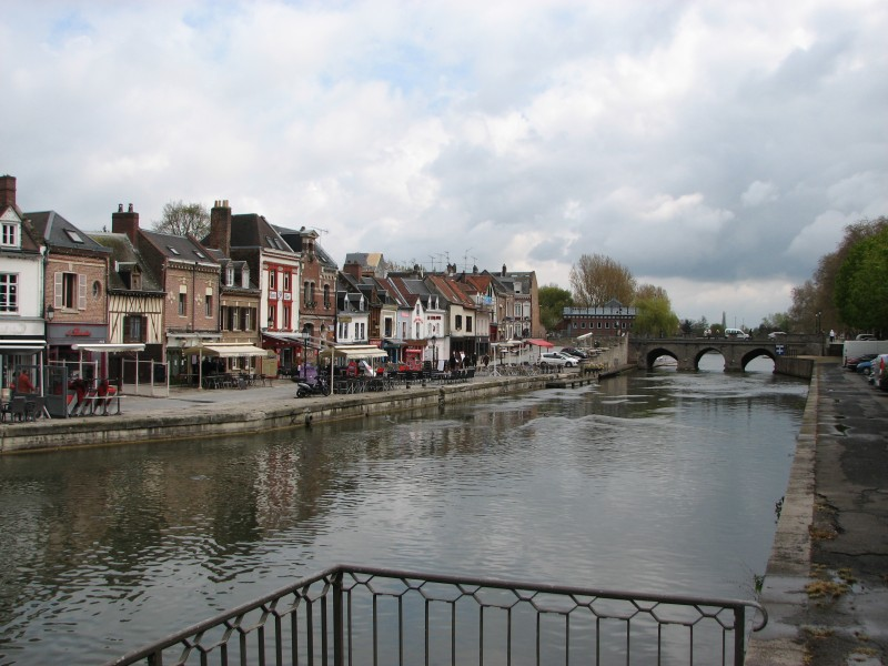 Amiens, France - the city where John the Baptist's head is believed to be kept