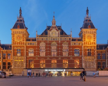 Amsterdam Central Station 2132
